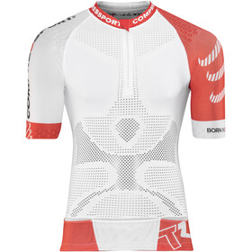 Compressport Trail Running V2 SS Shirt Men White